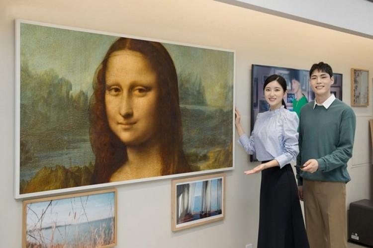 Samsung hợp tác bảo tàng Louvre cho xem tác phẩm nghệ thuật trên TV