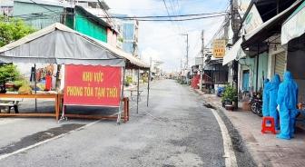 Phú Tân áp dụng các biện pháp tăng cường phòng, chống dịch COVID-19 trên toàn địa bàn