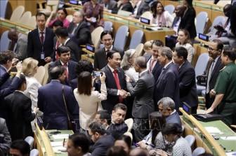 Việt Nam là đối tác mạnh mẽ vì hòa bình, phát triển bền vững của Liên hợp quốc