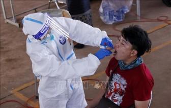 Lào tăng cường các biện pháp phòng dịch COVID-19 tại thủ đô Viêng Chăn