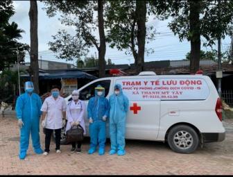 Thành lập trạm y tế lưu động tại 13 xã, thị trấn trên địa bàn huyện Châu Phú