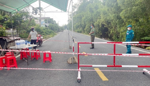 Tịnh Biên phong tỏa diện hẹp 2 khu vực để phòng, chống dịch COVID-19