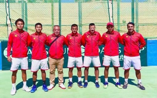 Quần vợt Việt Nam chính thức thăng hạng trong hệ thống Davis Cup
