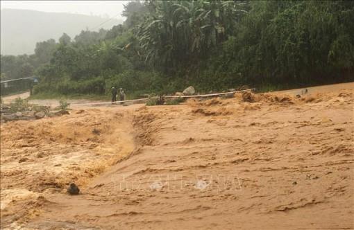 Nguy cơ cao lũ quét, sạt lở đất tại vùng núi và ngập úng cục bộ tại vùng trũng