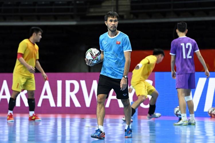 Tuyển futsal Việt Nam quyết giành vé đi tiếp tại World Cup