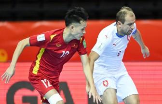Đội tuyển futsal Việt Nam gặp Nga ở vòng 1/8 Futsal World Cup 2021