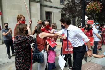 Tổng tuyển cử tại Canada: Cử tri bắt đầu đi bỏ phiếu