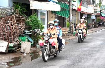 Đảm bảo an toàn giao thông gắn với phòng, chống dịch COVID-19