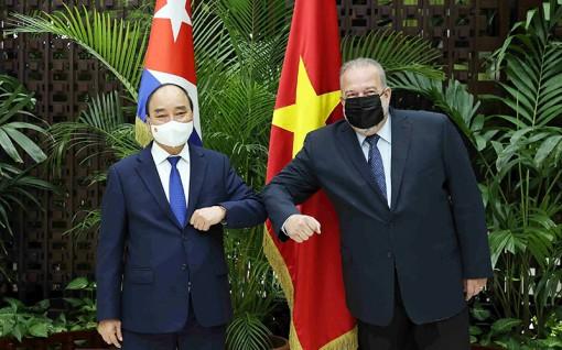 Nâng tầm hợp tác tốt đẹp giữa Việt Nam và Cuba