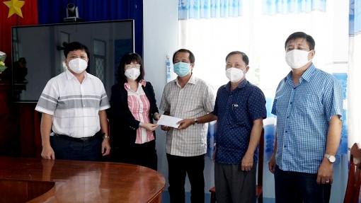 Lãnh đạo huyện Chợ Mới hỗ trợ 2 xã tâm dịch Mỹ Hội Đông và Long Giang