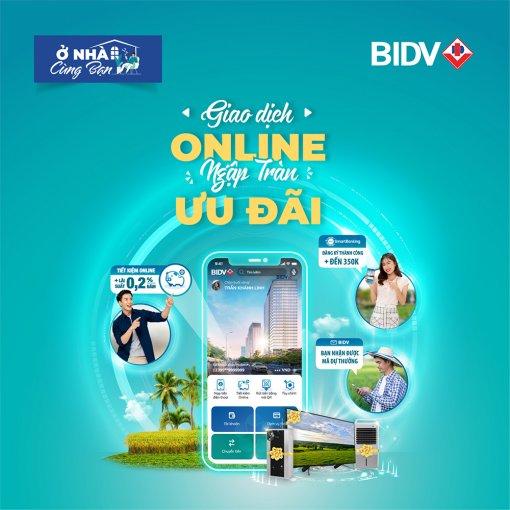 """""""Giao dịch online, ngập tràn ưu đãi"""" tại các chi nhánh BIDV Đồng bằng sông Cửu Long"""