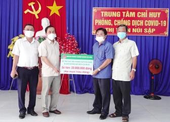 Ngân hàng Chính sách xã hội An Giang hỗ trợ  người dân khó khăn ở Thoại Sơn 20 triệu đồng