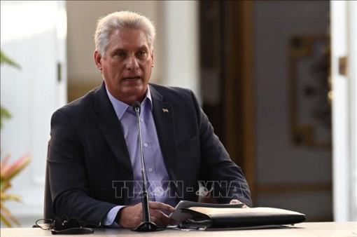 Chủ tịch Miguel Diáz-Canel: Cuba không lẻ loi nhờ tình đoàn kết của Việt Nam