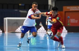 Thua sát nút Á quân thế giới, tuyển Việt Nam chia tay World Cup futsal 2021
