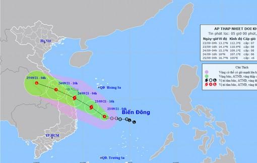 Thời tiết ngày 23-9: Áp thấp nhiệt đới có khả năng mạnh lên thành bão