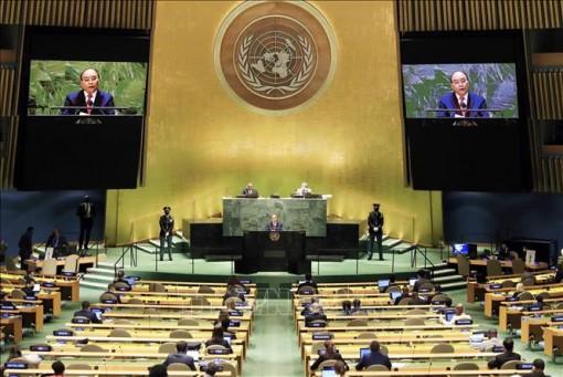 Toàn văn bài phát biểu của Chủ tịch nước tại Phiên thảo luận chung Cấp cao Khoá họp 76 ĐHĐ LHQ