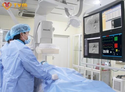 Ứng dụng phương pháp chụp và nút mạch điều trị ung thư gan nguyên phát