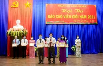 TP. Long Xuyên tổ chức hội thi báo cáo viên giỏi năm 2021