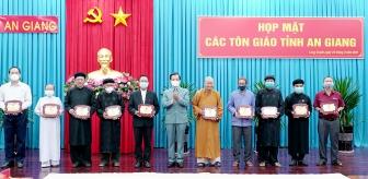 Bí thư Tỉnh ủy An Giang Lê Hồng Quang: Các tổ chức tôn giáo đoàn kết, chung sức, đồng lòng đẩy lùi COVID-19