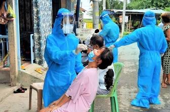 TP. Châu Đốc xét nghiệm tầm soát SARS-CoV-2 lần thứ 3 cho gần 49.500 người dân