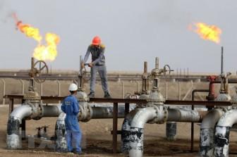 Sáng 27-9, giá dầu châu Á tăng lên mức cao nhất trong ba năm