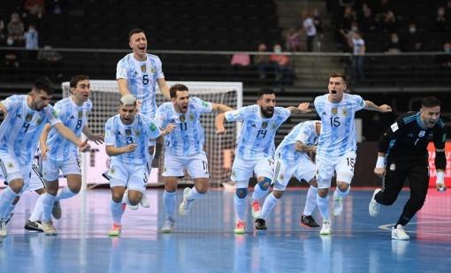 Thắng nghẹt thở Nga, Argentina đụng Brazil ở bán kết