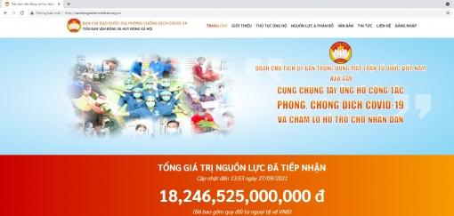 Tuyên truyền, giới thiệu trang thông tin điện tử của Tiểu ban Vận động và huy động xã hội