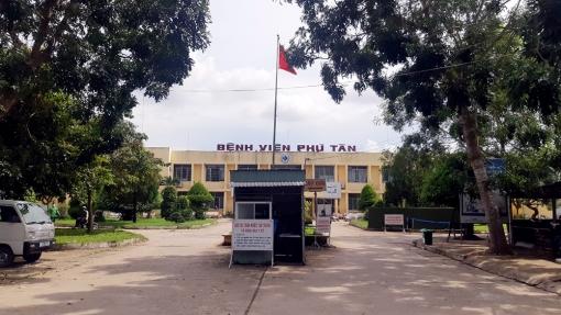 Đã dỡ phong tỏa Khoa ngoại -Trung tâm Y tế huyện Phú Tân