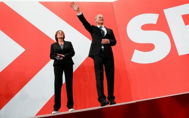 Đảng Dân chủ Xã hội giành chiến thắng trong cuộc bầu cử Quốc hội Đức
