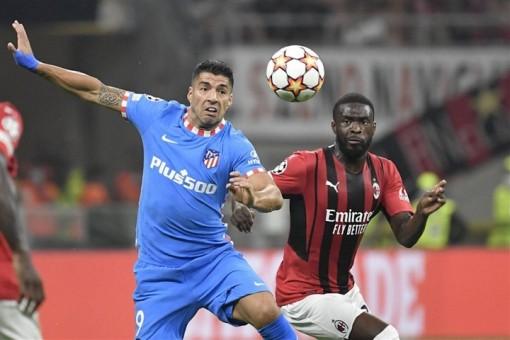 Luis Suarez ghi bàn phút 97, Atletico Madrid ngược dòng kịch tính hạ AC Milan