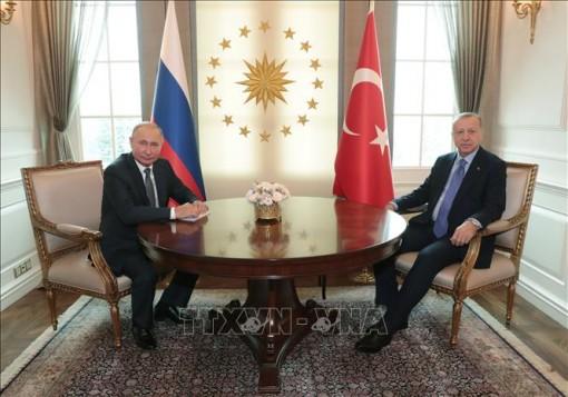Thổ Nhĩ Kỳ và Nga tìm kiếm lợi ích chung