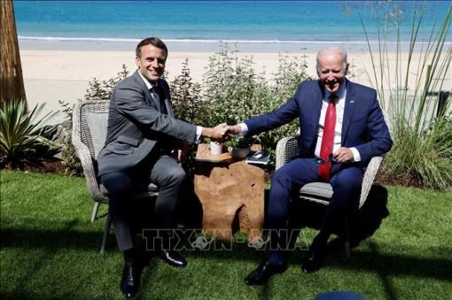 Tổng thống Pháp muốn hàn gắn quan hệ đồng minh với Mỹ