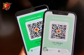 App PC-COVID cập nhật sửa màu thẻ COVID-19 để phân biệt thẻ xanh