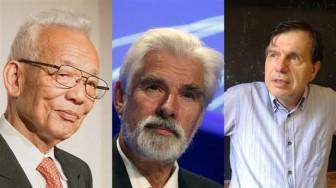 Nobel Vật lý 2021: 3 nhà khoa học về biến đổi khí hậu đoạt giải