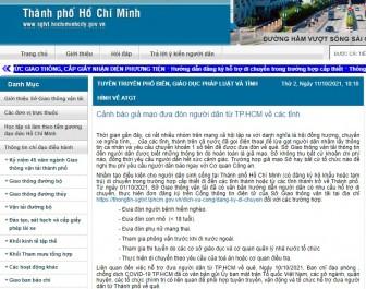 Cảnh báo giả mạo đưa đón người dân từ TP Hồ Chí Minh về các tỉnh