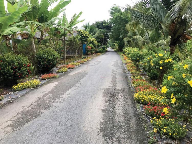Vĩnh Khánh xây dựng nông thôn mới nâng cao