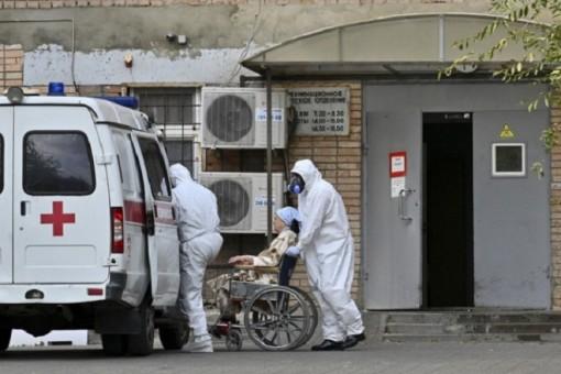 Số ca mắc, chết vì COVID-19 tại Nga tiếp tục lập lỷ lục