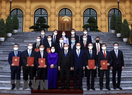 Chủ tịch nước giao nhiệm vụ cho các Đại sứ, Trưởng cơ quan đại diện