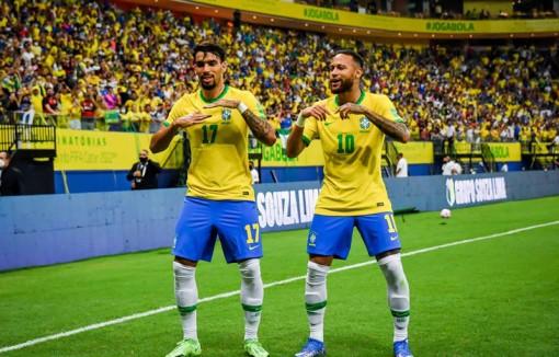 Thắng đậm Uruguay, Brazil cách vé đến Qatar 1 trận thắng