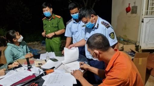 Gia Lai: Tạm giữ phương tiện luồng xanh vận chuyển thuốc lá ngoại