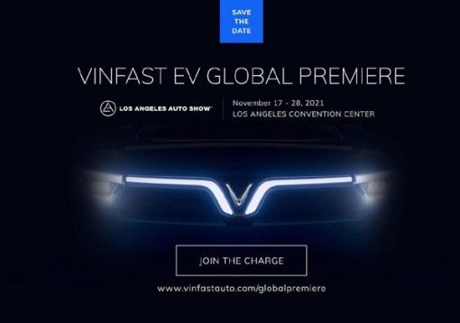 VinFast trình làng 2 mẫu xe điện mới tại Los Angeles Auto Show 2021