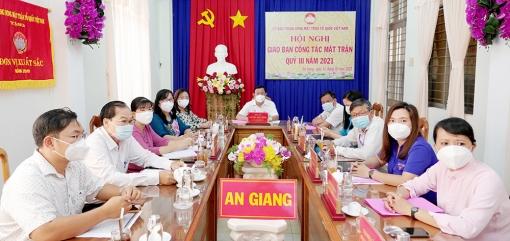 Ủy ban Trung ương MTTQVN giao ban công tác Mặt trận quý III - 2021