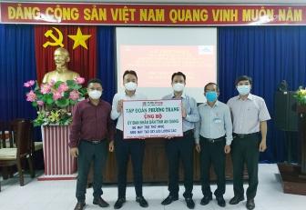 Tập đoàn Phương Trang-Futa Group hỗ trợ thêm trang thiết bị y tế phòng, chống dịch COVID-19 cho tỉnh An Giang trị giá 23,5 tỷ đồng