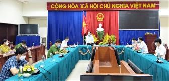 UBND TP. Châu Đốc triển khai kế hoạch tiêm vaccine bao phủ toàn dân đợt 1