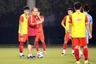 """U23 Việt Nam """"tổng duyệt"""" kỹ trước trận giao hữu U23 Kyrgyzstan"""