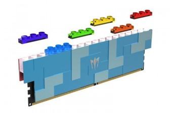 GALAX giới thiệu các mô-đun DRAM DDR5 theo chủ đề Lego
