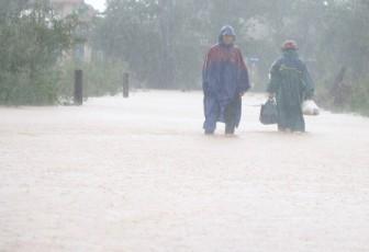 Khu vực từ Nam Nghệ An đến Thừa Thiên-Huế có mưa to đến rất to