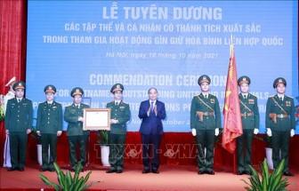 Chủ tịch nước biểu dương lực lượng gìn giữ hoà bình Liên hợp quốc