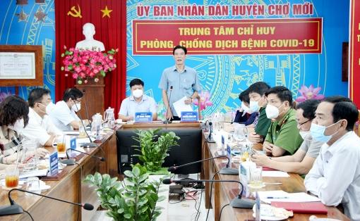 Chợ Mới họp Ban Chỉ đạo phòng, chống dịch COVID-19