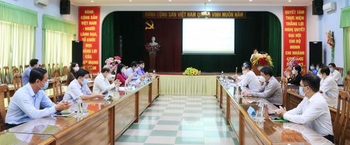 Đoàn đại biểu Quốc hội  tỉnh An Giang làm việc với ngành ngân hàng